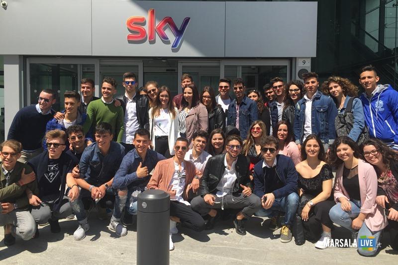 Sky Eataly e Borsa Valori Commerciale di Marsala