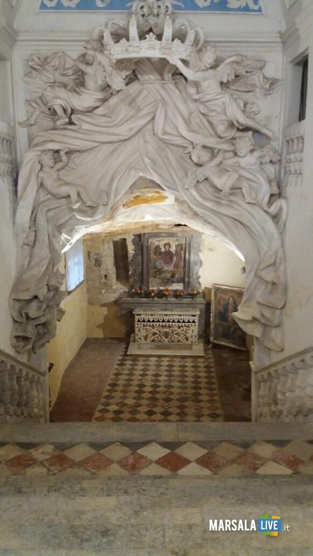 Vergine Orante Chiesa Santa Maria Itria Marsala 2018