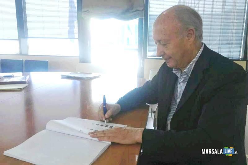 Alberto Di Girolamo sindaco di Marsala