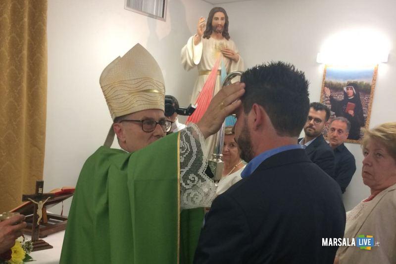 Celebrazione Cresima in Ospedale Mazara Don Antonino Favata (3)