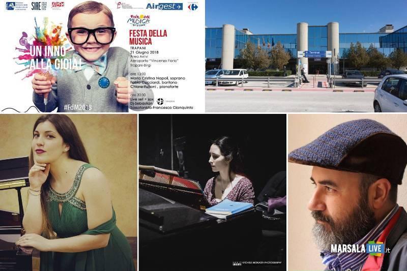 Festa della musica 2018 all_aeroporto Trapani Birgi