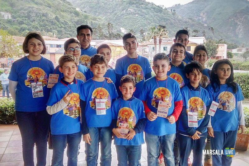 Foto di gruppo scacchi marsala