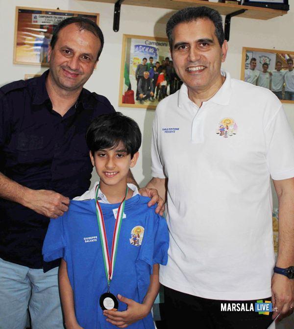 Giuseppe Salvato e Davide Montalto torneo giovanile Michail Tal - (2)
