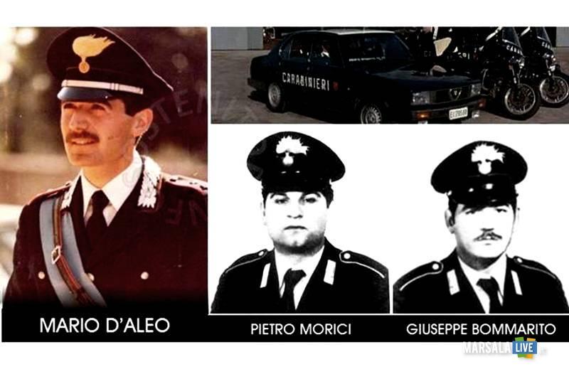Mario D'Aleo, Giuseppe Bommarito e Pietro Morici