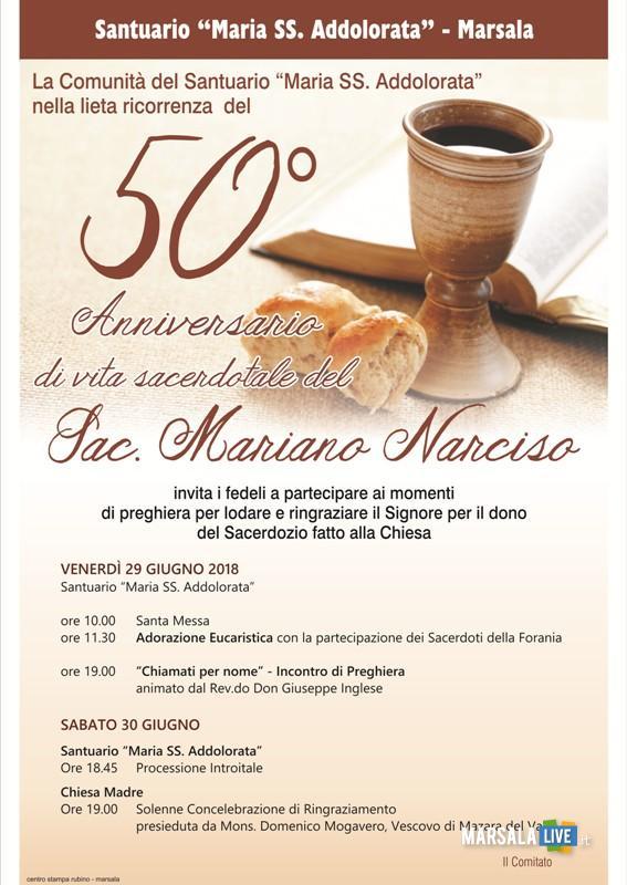 Marsala Padre Narciso 50 anni di sacerdozio (4)
