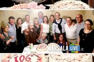 Marsala, nonna Rosa Urso compie 106 anni