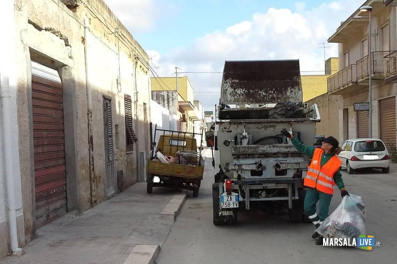 Marsala, smaltimento rifiuti in discarica