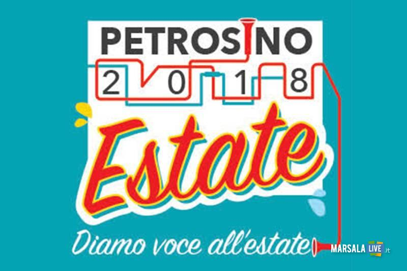 Petrosino Estate 2018 logo Diamo voce all_estate
