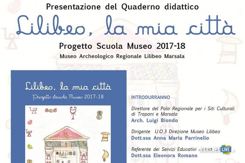 Quaderno didattico Lilibeo, la mia città Marsala
