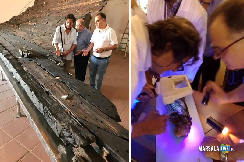 Tac ed Rx digitale per la nave romana di Marausa
