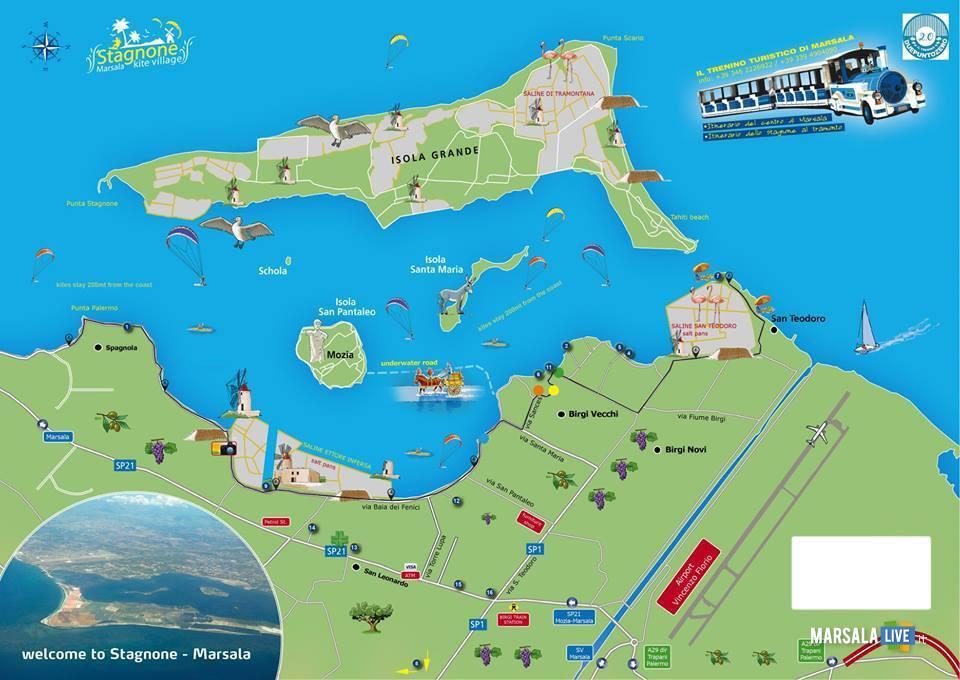 Turismo a Marsala, le cartine turistiche- (1)