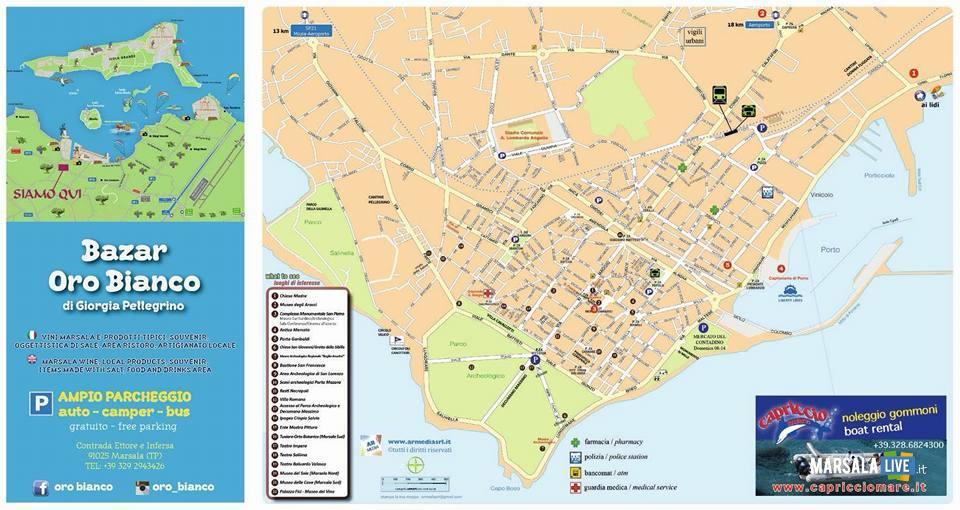 Turismo a Marsala, le cartine turistiche- (3)