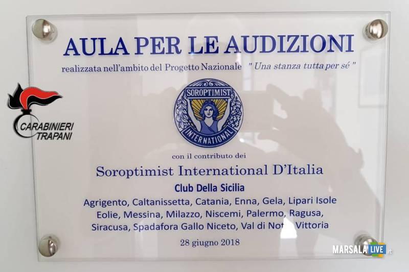 aula audizioni protette Comando Provinciale Carabinieri (1)