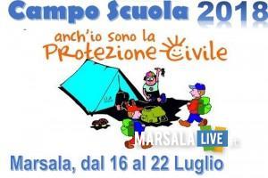campo scuola protezione civile marsala la provvidenza 2018