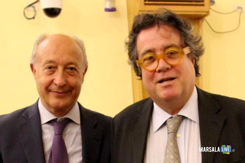 Alberto Di Girolamo e Sebastiano Tusa