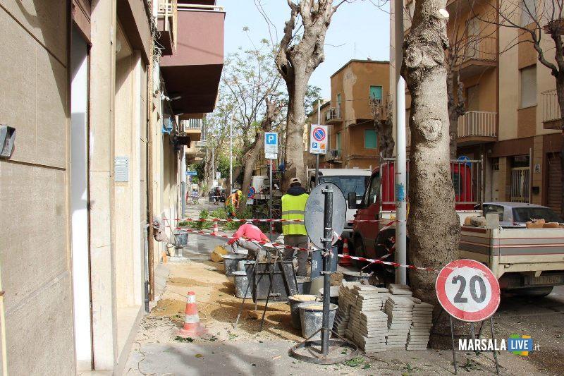 manutenzione strade e marciapiedi