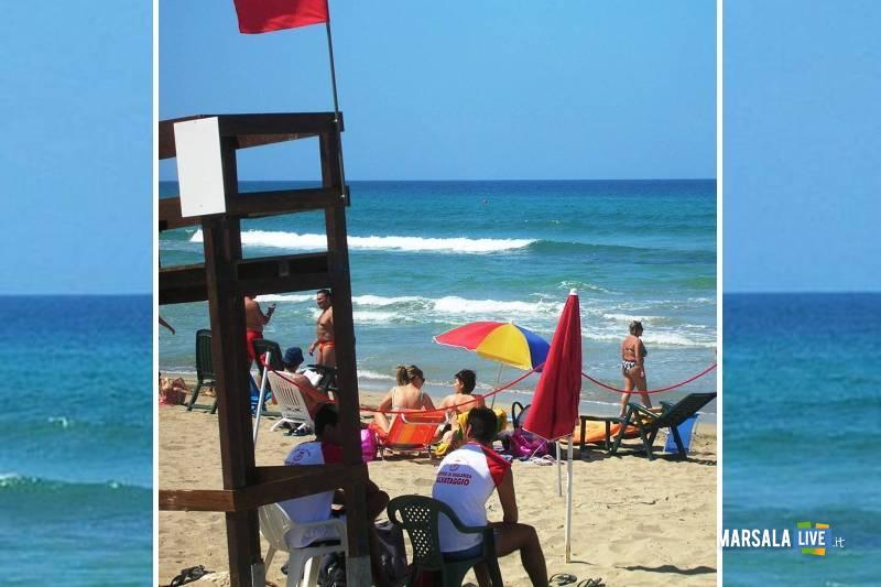 servizio di vigilanza nelle spiagge libere a Marsala