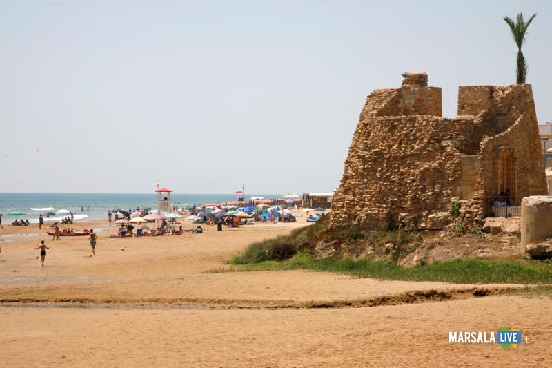 spiaggia Tre Fontane Campobello Sicilia