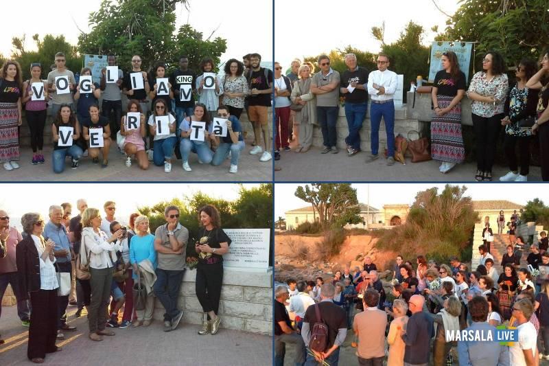 ustica - commemorazione vittime Marsala