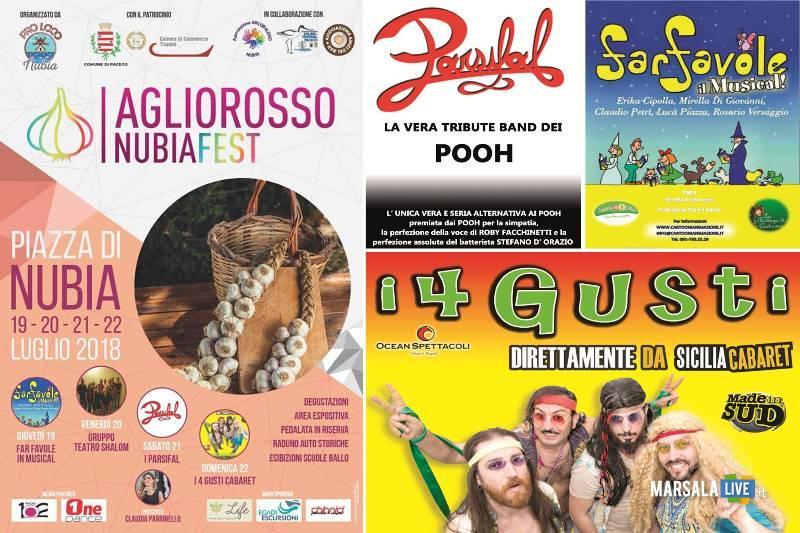 Aglio Rosso Nubia Fest paceco 2018