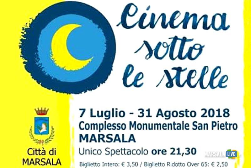 CINEMA SOTTO LE STELLE MARSALA 2018-