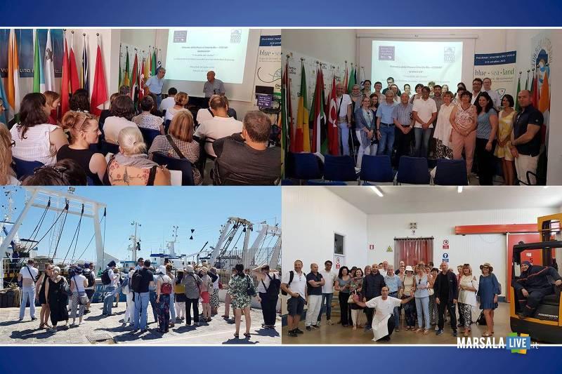 Delegazione Europea in visita al Distretto