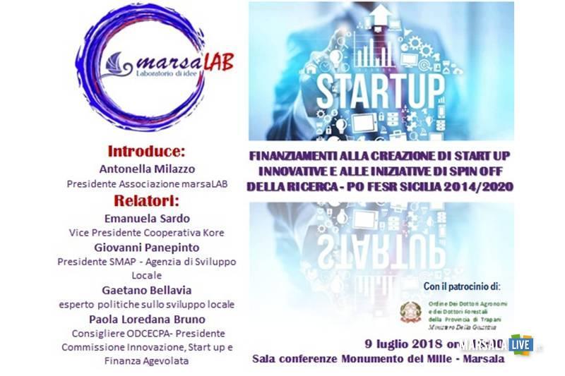 Finanziamenti alla creazione di start up innovative e alle iniziative di spin off della ricerca