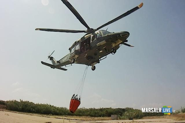 HH-139A IN DECOLLO CON BENNA