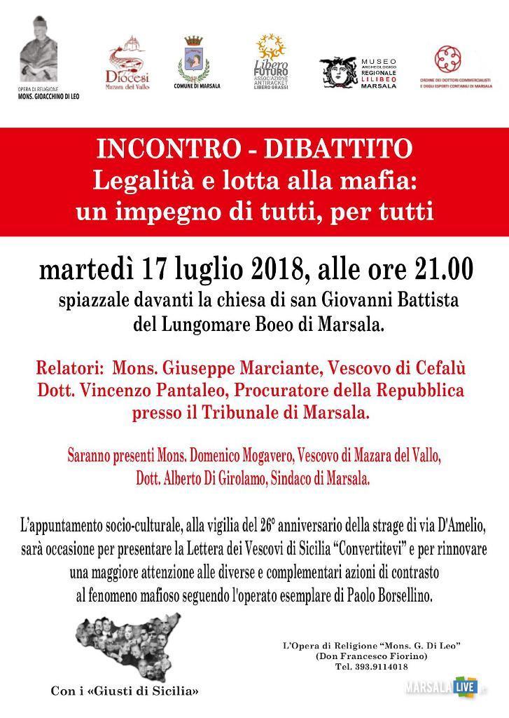 Legalità e lotta alla mafia a Marsala