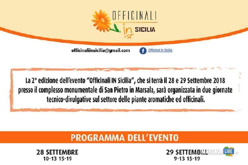 Officinali IN Sicilia a Marsala settembre 2018