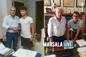 SSD Marsala Calcio, tesserati Marco De Francesco e Alessandro Chifari
