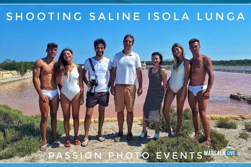 Shooting Fotografico alle saline Isola Lunga Marsala