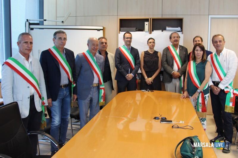 Sit in sindaci provincia su aeroporto Vincenzo Florio Trapani-Birgi-