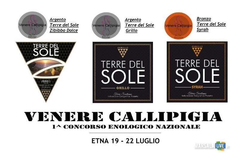 Tre medaglie a Terre del Sole Zerilli al concorso Venere Callipigia