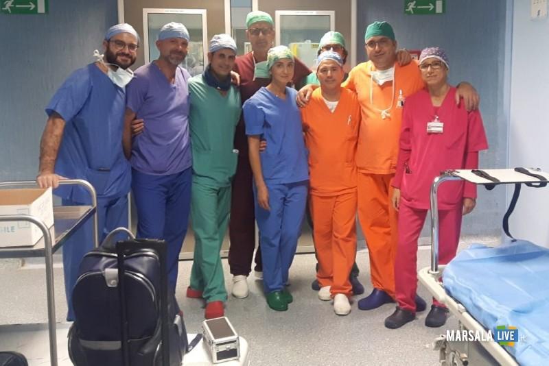 equipe prelievo Al S. Antonio Abate prelevati 7 organi per trapianto