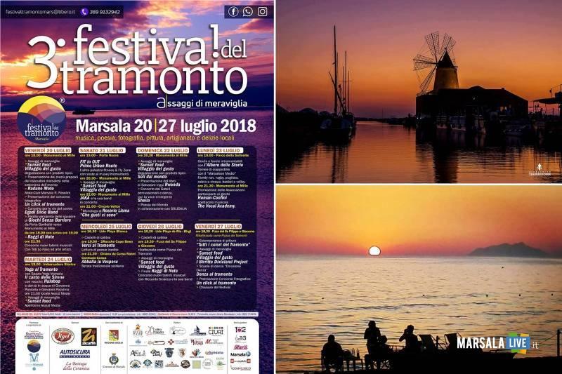 festival del tramonto marsala 2018