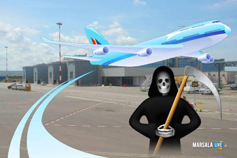 morte aeroporto aereo birgi florio