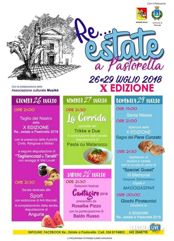 re_estate a pastorella 2018