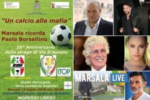 un calcio alla mafia marsala