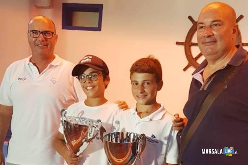 vincitori prima tappa coppa sicilia optimist-