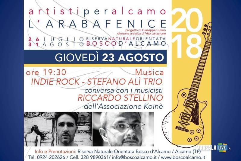 Araba Fenice 2018. Stefano Alì TRIO. Riserva Naturale Bosco Alcamo