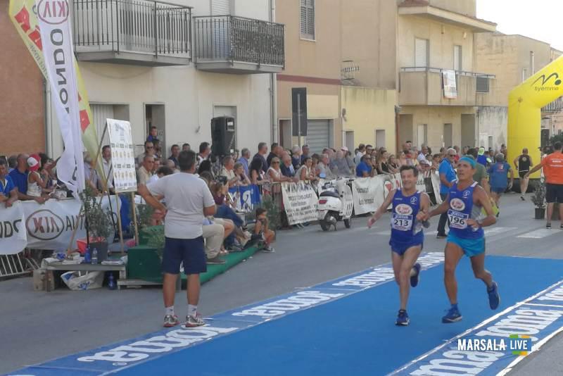 - Atl. - Antonio Pizzo e Ignazio Cammarata all'arrivo