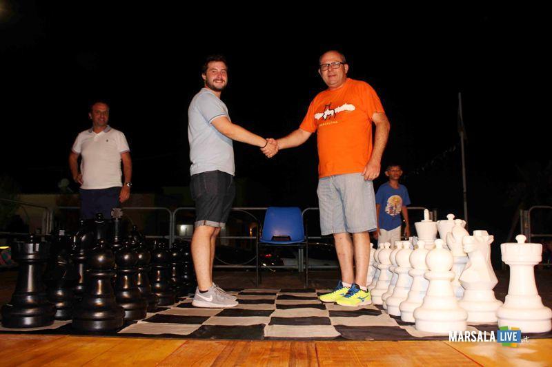 La finale degli scacchi giganti