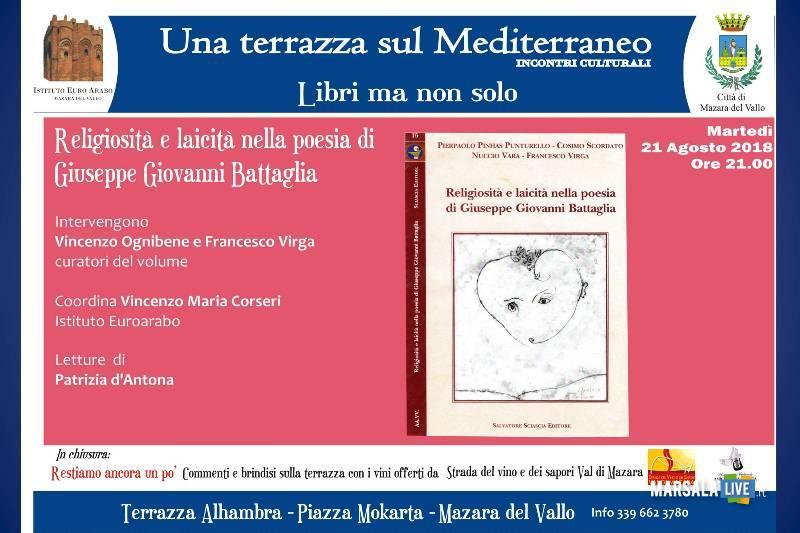 Religiosità e laicità nella poesia di Giuseppe Giovanni Battaglia - mazara
