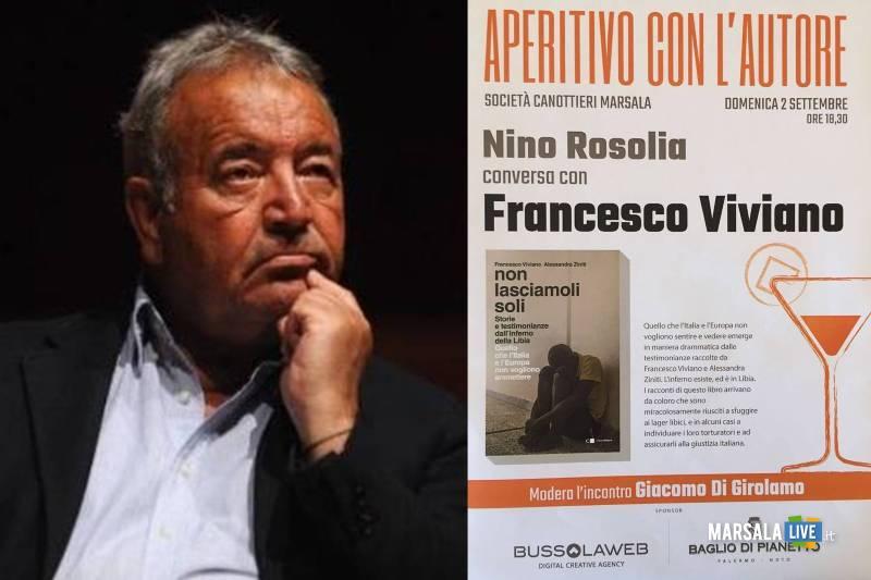 aperitivo con l_autore, Francesco Viviano presenta Non lasciamoli soli