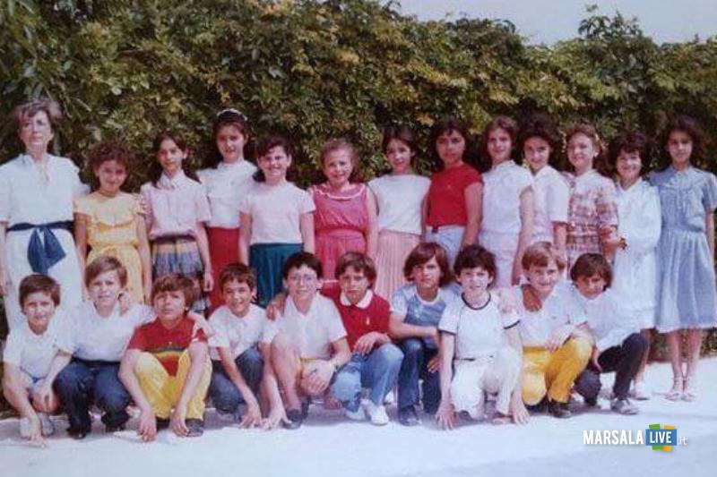 classe 5A 1984, plesso Maria Montessori, Strasatti Marsala (1)