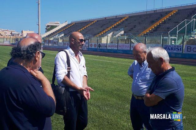 'ispezione federale al Municipale Stadio Marsala (1)
