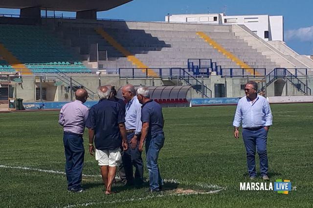 'ispezione federale al Municipale Stadio Marsala (2)
