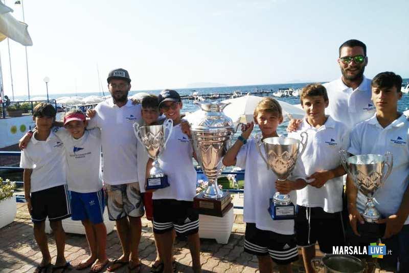 premiazione coppa sicilia 2018 Soc Canottieri Marsala