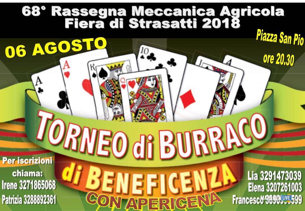 torneo di Burraco Strasatti